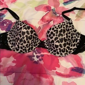 Fruit of the Loom Push up bra - cheetah print
